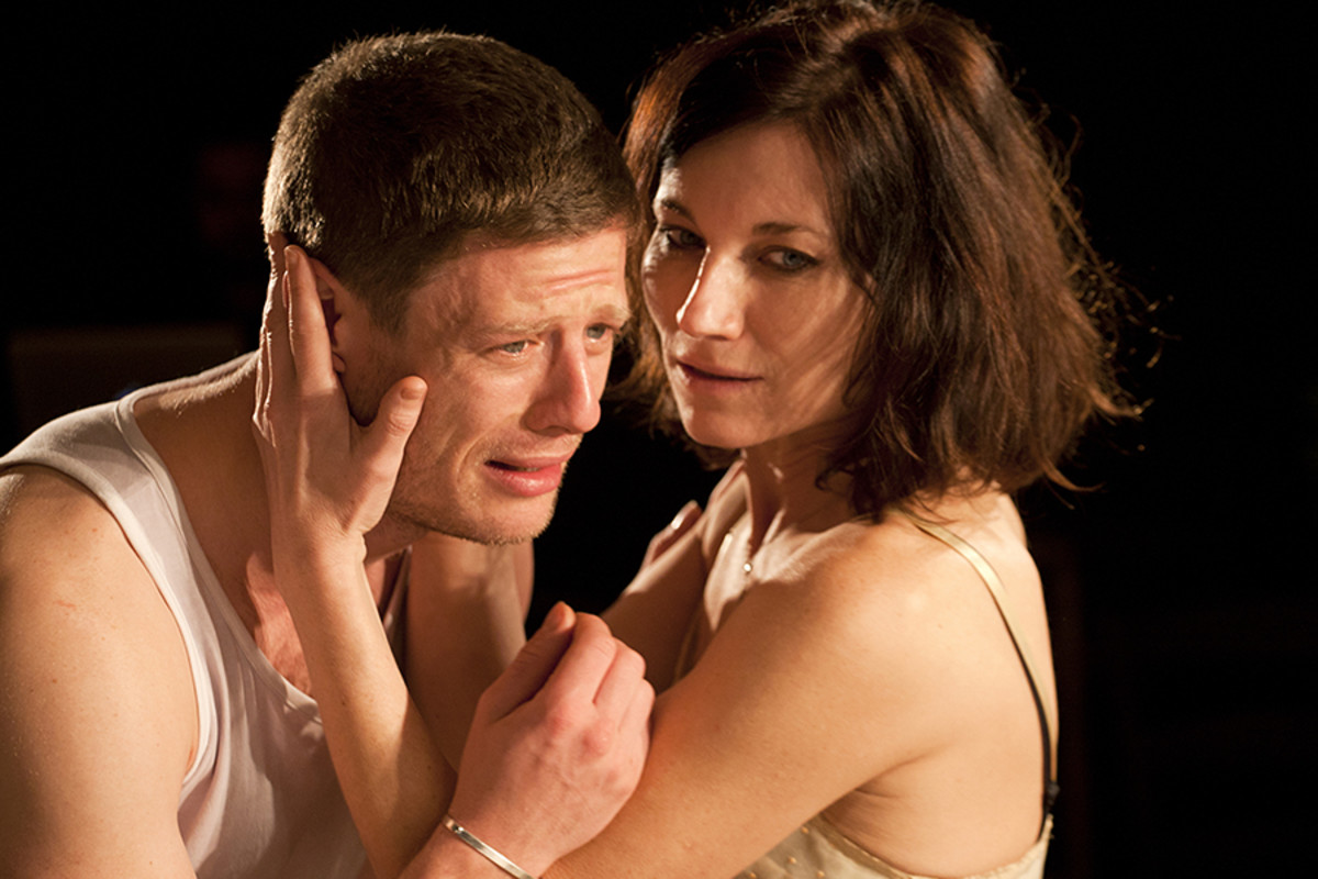 James Norton and Kate Fleetwood in Bug (Photo: Simon Annand)