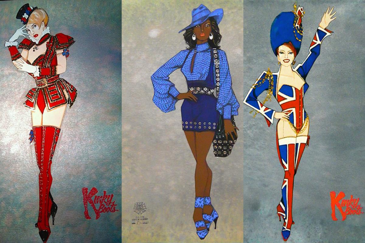 Gregg Barnes' costume designs for Kinky Boots