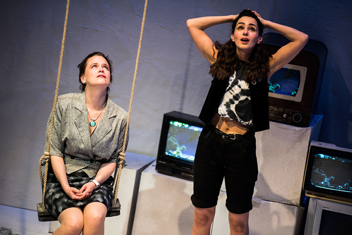 Katie Brayben and Serena Manteghi in My Mother Said I Never Should (Photo: Savannah Photographic)