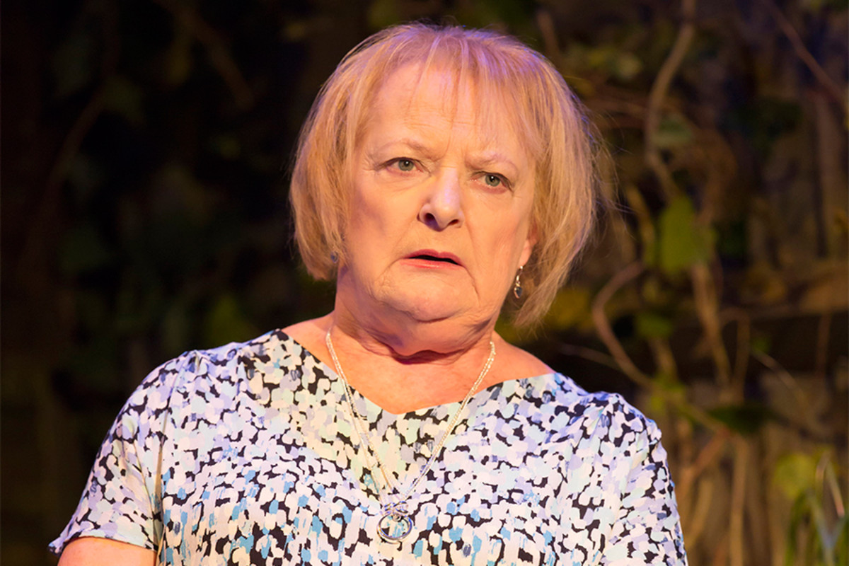 June Watson in Escaped Alone at the Royal Court Theatre (Photo: Johan Persson)