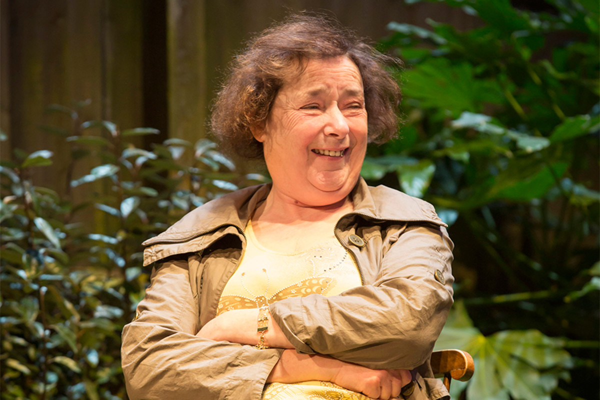 Linda Bassett in Escaped Alone at the Royal Court Theatre (Photo: Johan Persson)