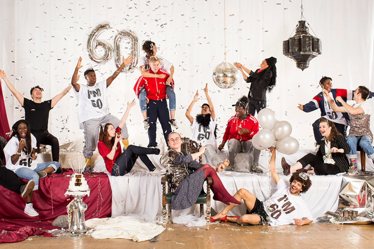 National Youth Theatre launches its 60th anniversary season (Photo: Helen Maybanks)