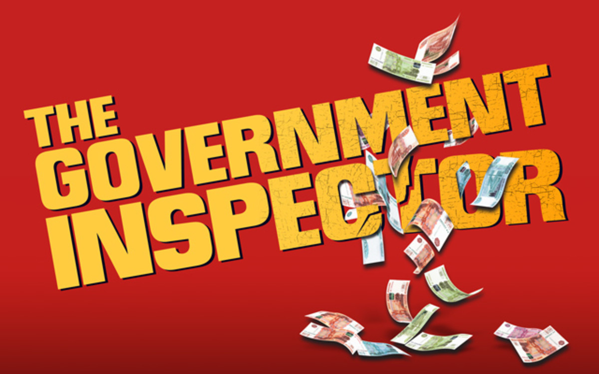 The Government Inspector at Theatre Royal Stratford East