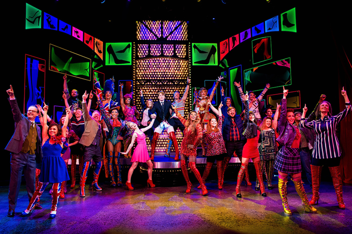 Kinky Boots, the new musical playing at the Adelphi Theatre (Photo: Matt Crockett)