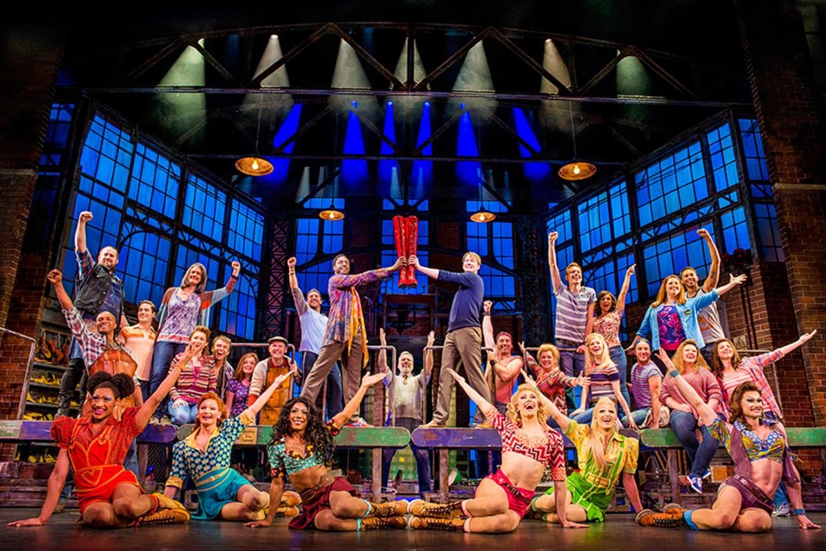 Kinky Boots, the new musical playing at the Adelphi Theatre (Photo: Matt Crockett)