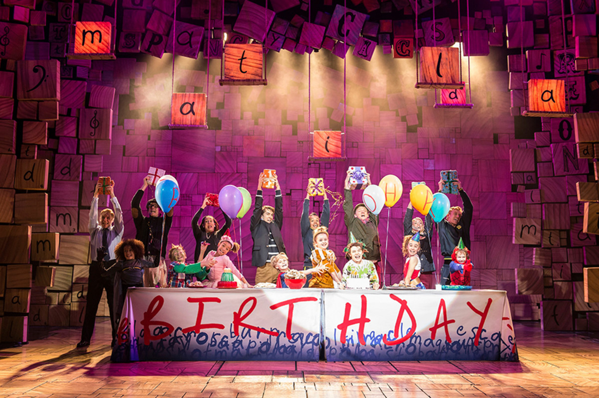 Matilda The Musical, playing at the Cambridge Theatre (Photo: Manuel Harlan)