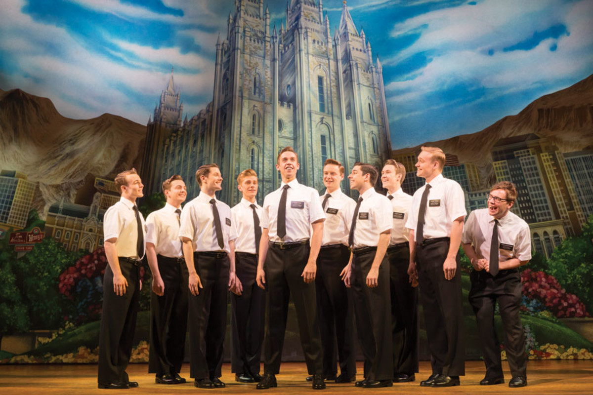The Book Of Mormon, playing at the Prince of Wales Theatre