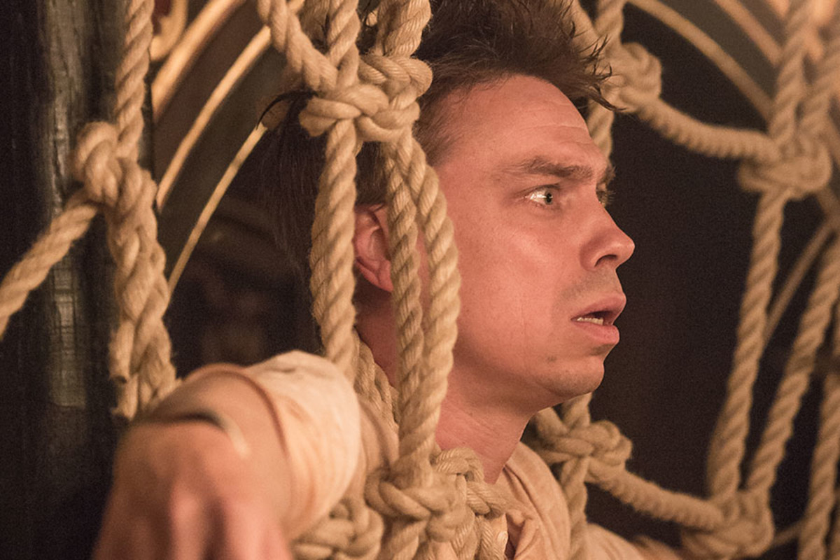 James Garnon stars in Pericles at the Sam Wanamaker Playhouse (Photo: Marc Brenner)