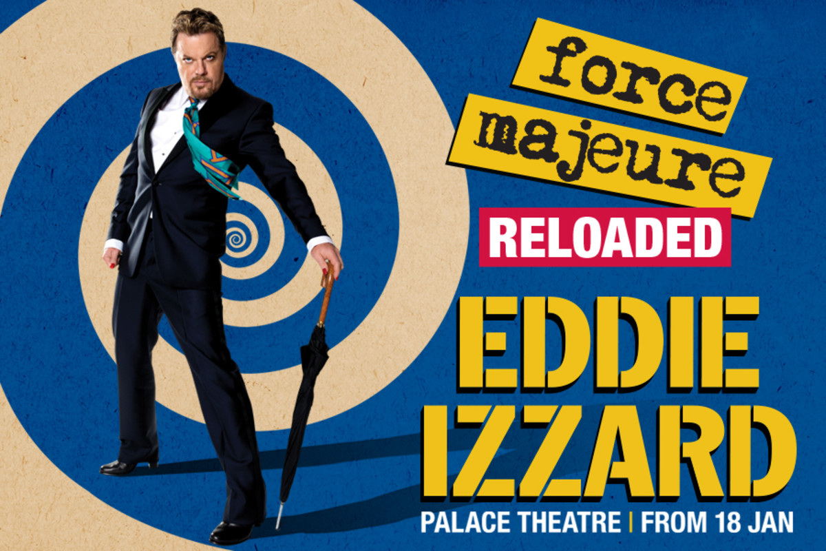 Eddie Izzard at the Palace Theatre