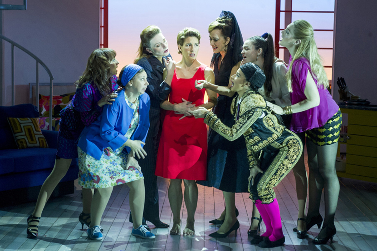 The cast of Women On The Verge Of A Nervous Breakdown (Photo: Alastair Muir)
