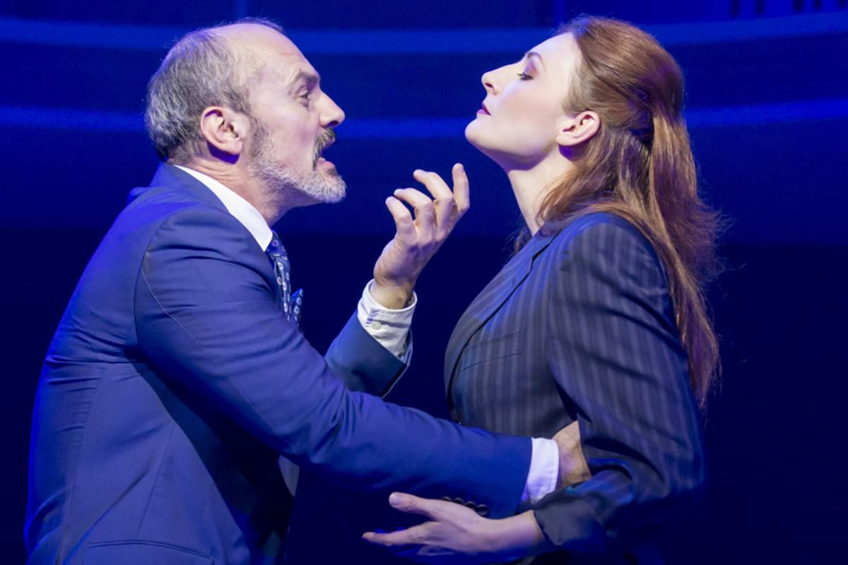 Jerome Pradon and Willemijn Verkaik in Women On The Verge Of A Nervous Breakdown (Photo: Johan Persson)