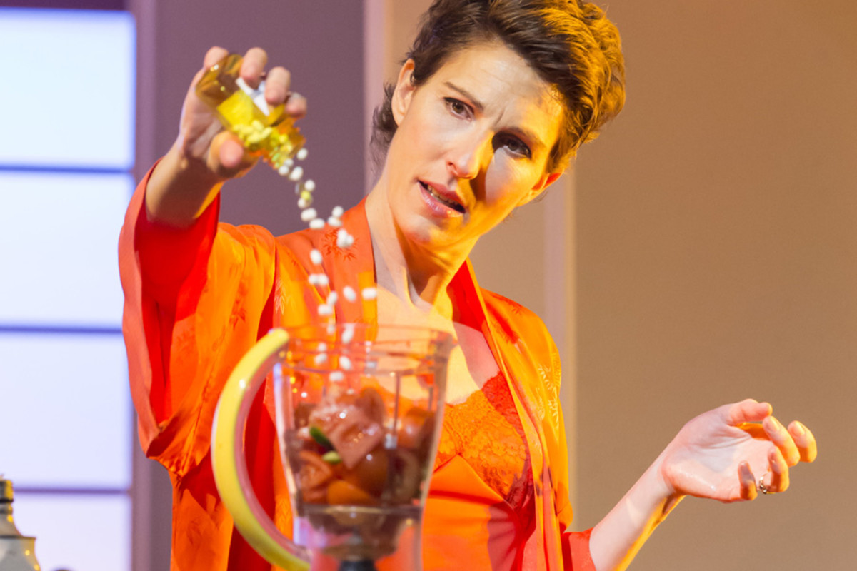 Tamsin Greig in Women On The Verge Of A Nervous Breakdown (Photo: Johan Persson)
