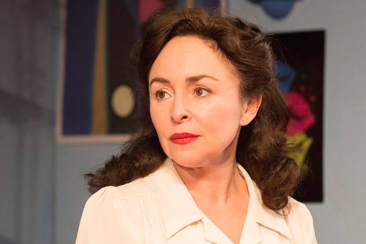 Samantha Spiro in Di And Viv And Rose (Photo: Johan Persson)