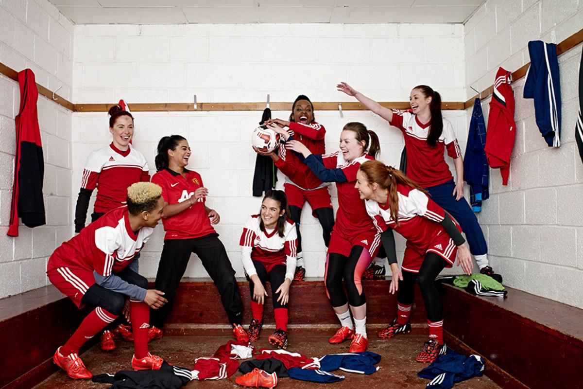 Bend It Like Beckham The Musical's Hounslow Harriers (Photo: Uli Weber)
