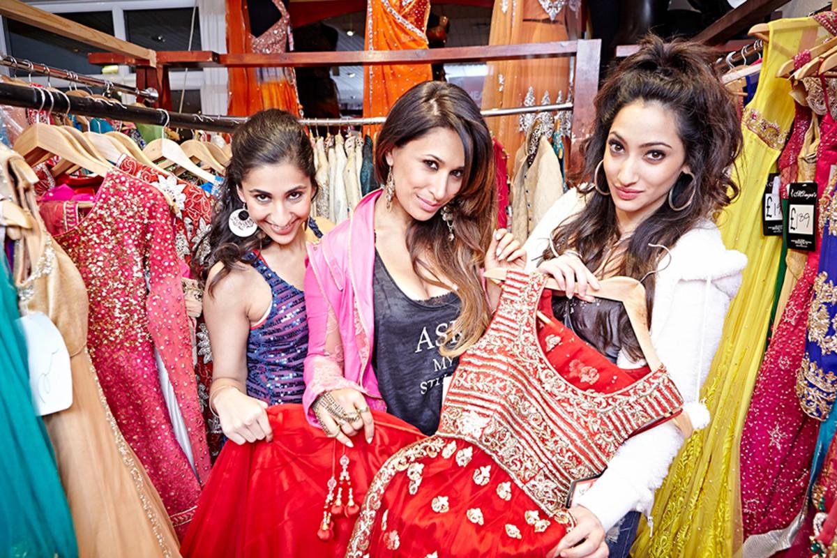 Bend It Like Beckham The Musical's Sharan Phull, Preeya Kalidas and Serina Mathew (Photo: Uli Weber)