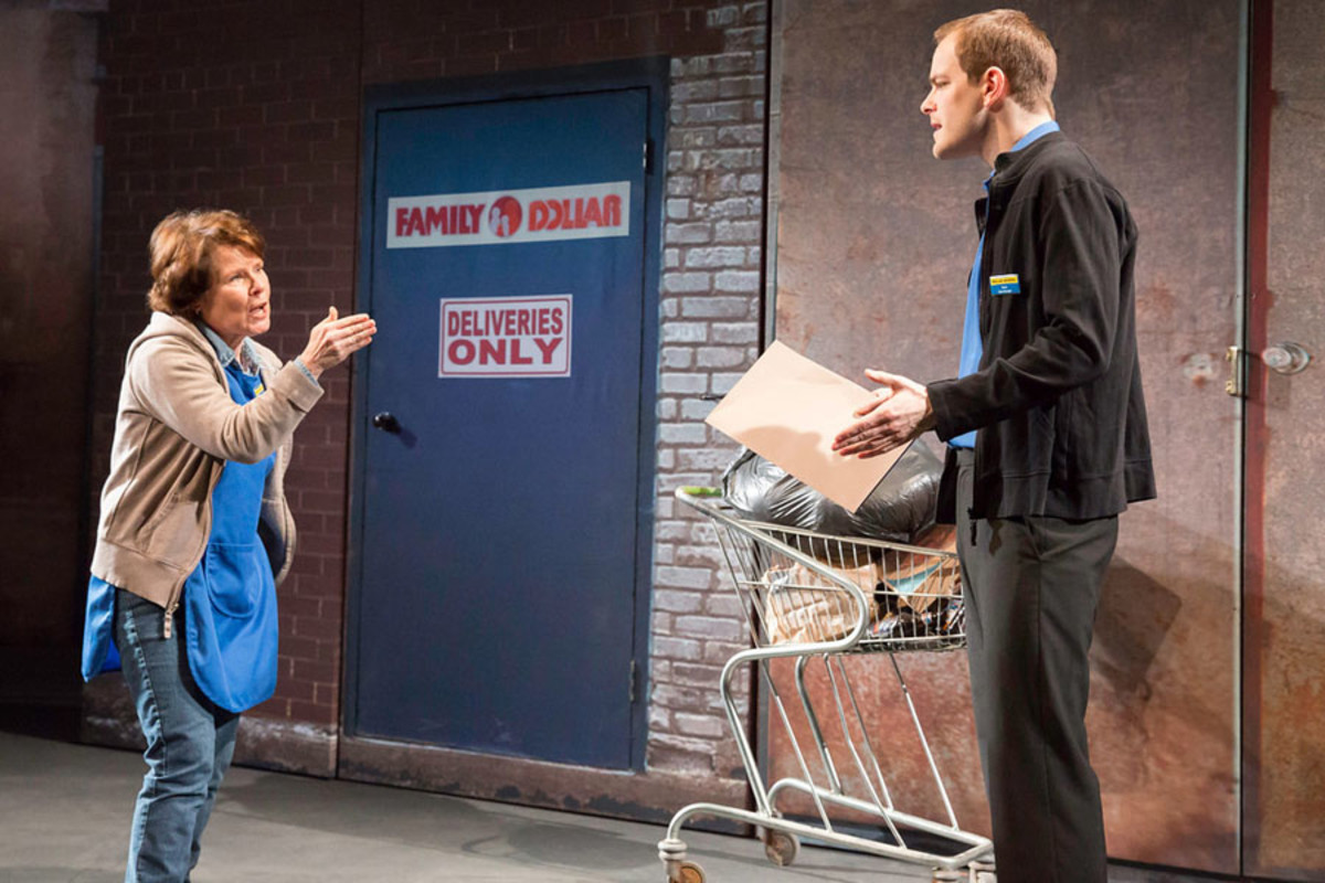 Imelda Staunton and Matthew Barker in Good People at the Hampstead Theatre (Photo: Johan Persson)