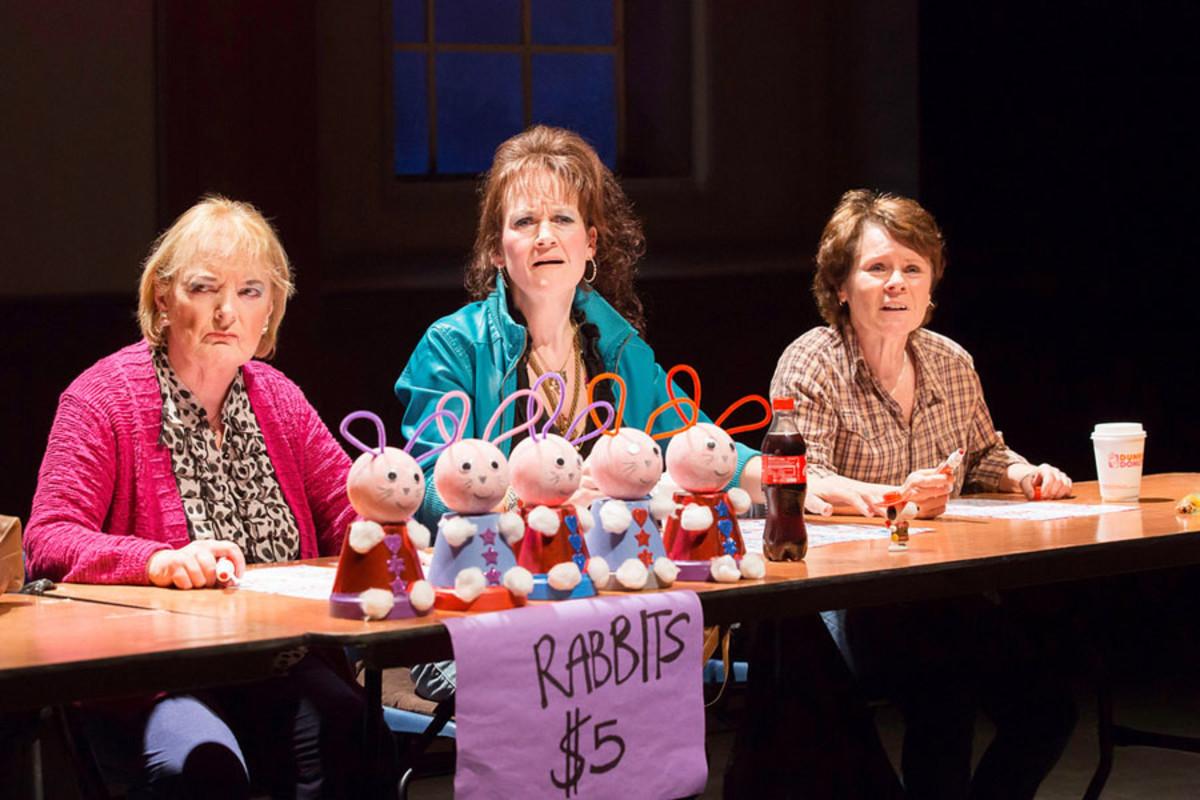June Watson, Lorraine Ashbourne and Imelda Staunton in Good People at the Hampstead Theatre (Photo: Johan Persson)