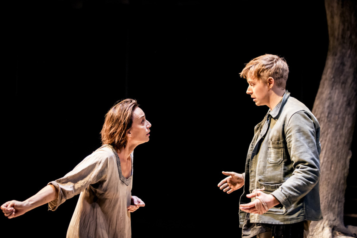 Kristin Scott Thomas and Jack Lowden in Electra at the Old Vic (Photo: Johan Persson)