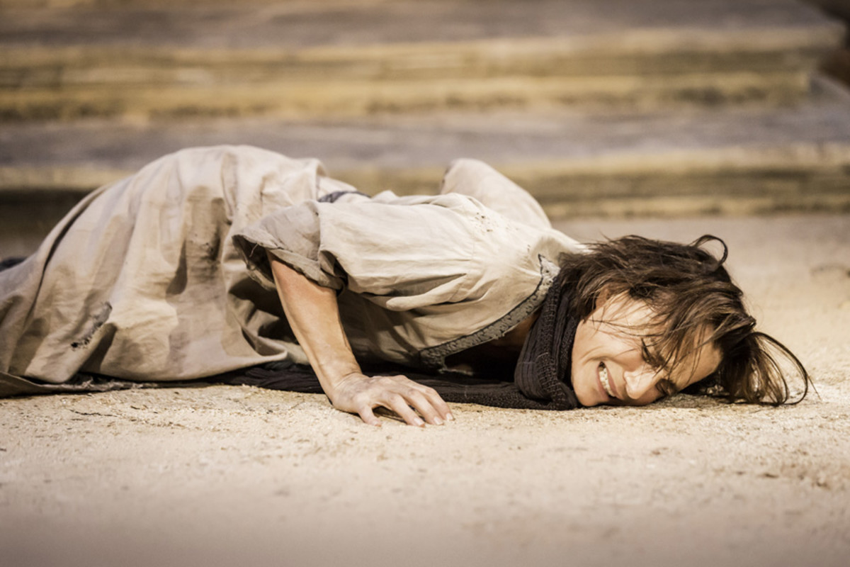 Kristin Scott Thomas in Electra at the Old Vic (Photo: Johan Persson)