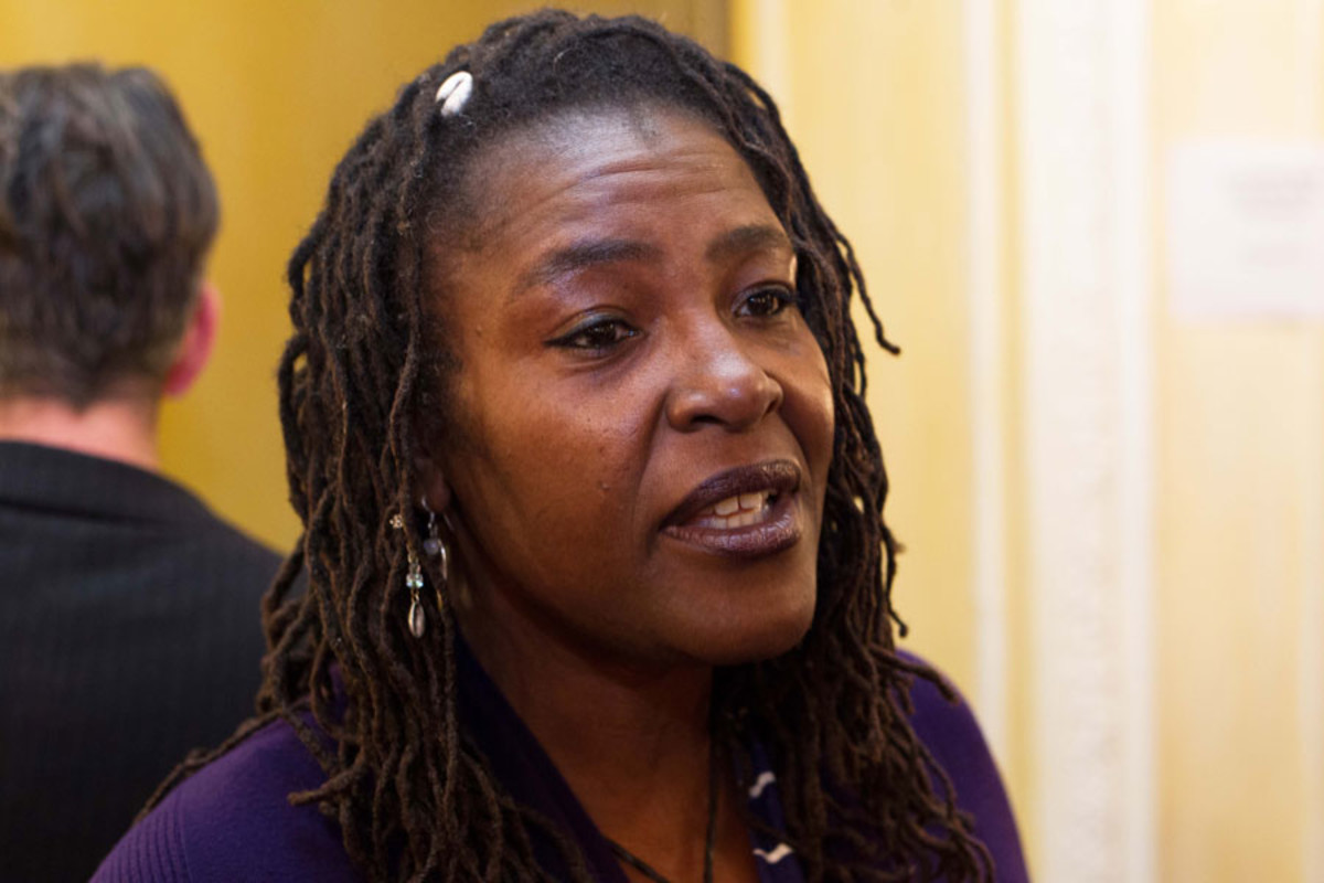 Sharon D Clarke at the Olivier Awards Nominees Lunch 2014