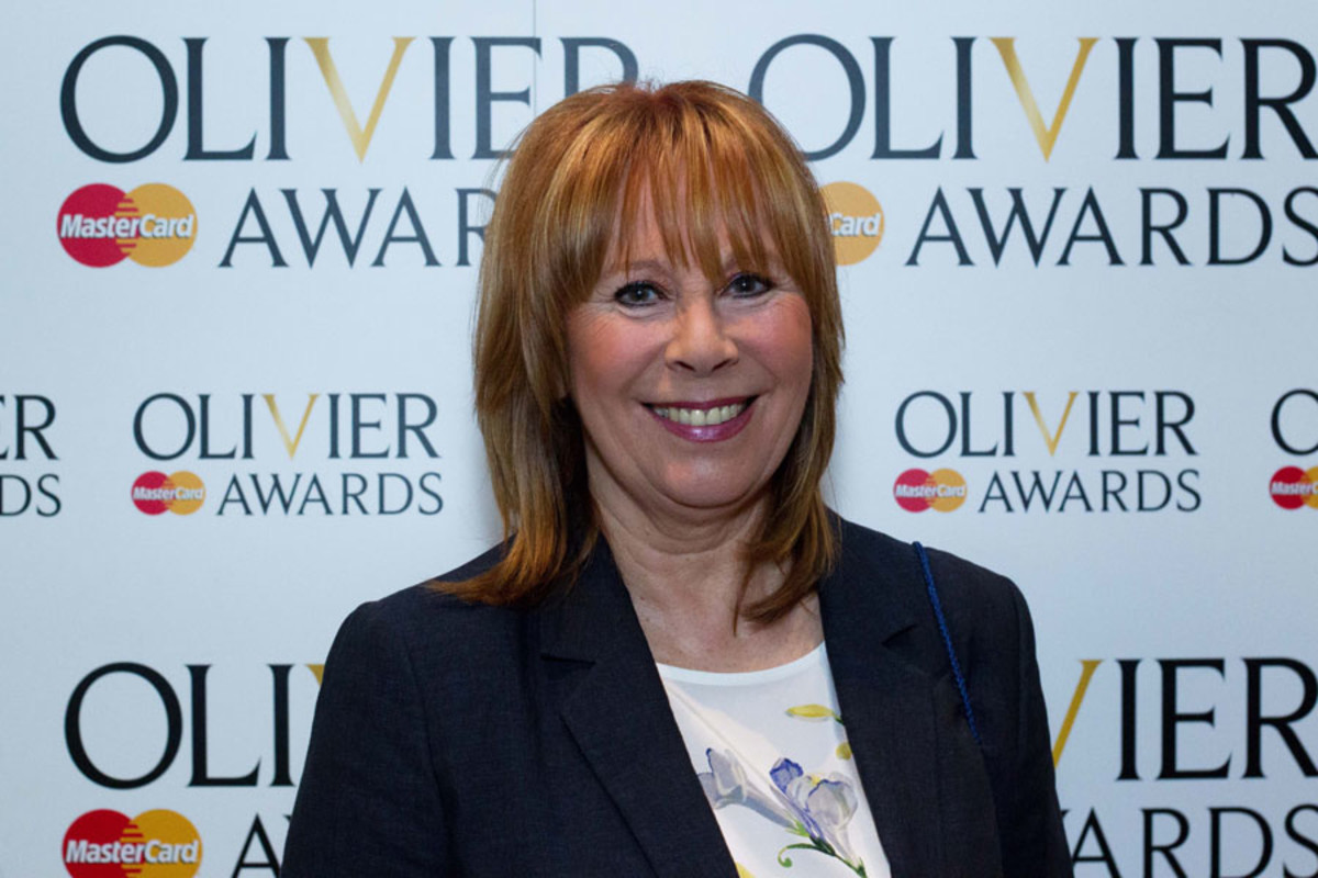 Marti Webb at the Olivier Awards Nominees Lunch 2014