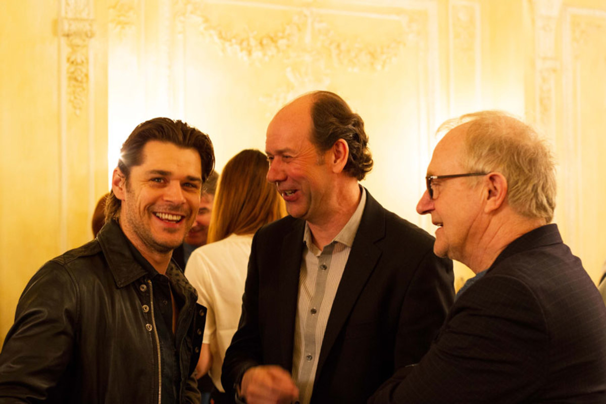 Kenny Doughty, Jonty Stephens and Simon Rouse at the Olivier Awards Nominees Lunch 2014