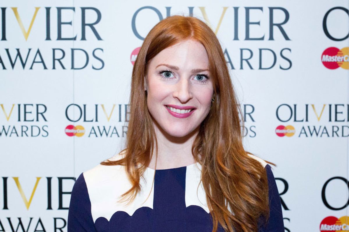 Rosalie Craig at the Olivier Awards Nominees Lunch 2014