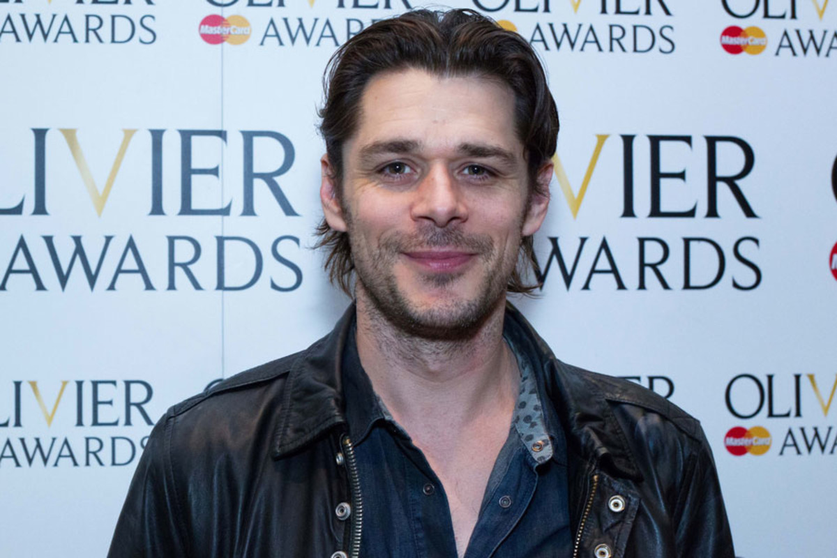 Kenny Doughty at the Olivier Awards Nominees Lunch 2014