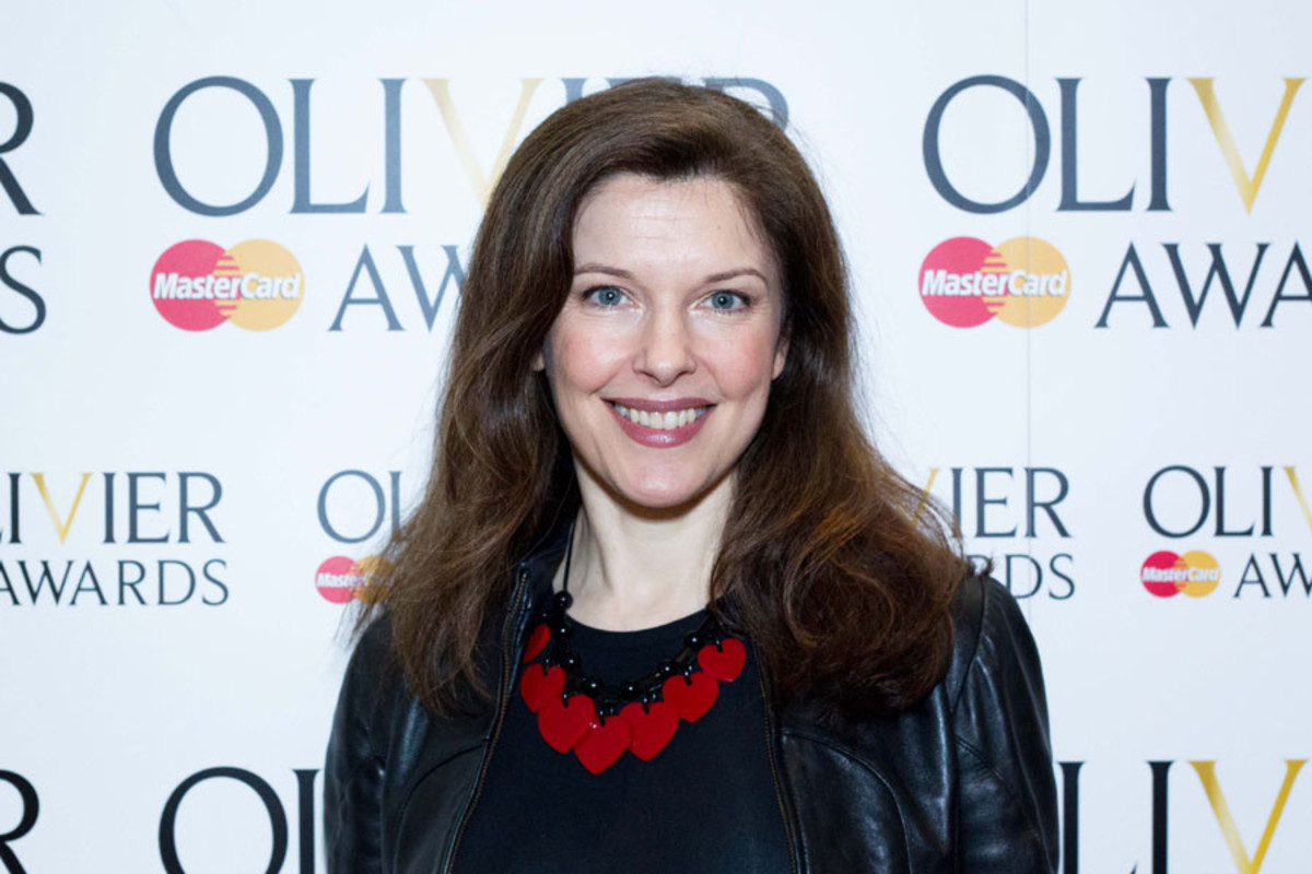 Josefina Gabrielle at the Olivier Awards Nominees Lunch 2014