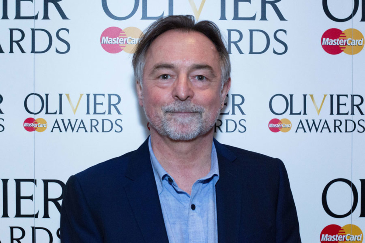 Ron Cook at the Olivier Awards Nominees Lunch 2014