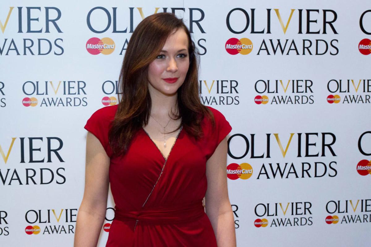 Savannah Stevenson at the Olivier Awards Nominees Lunch 2014