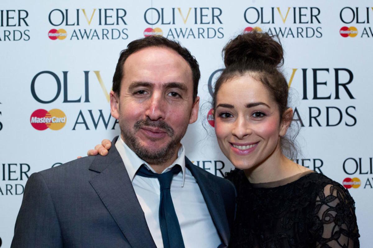 Jez Unwin and Zrinka Cvitešić at the Olivier Awards Nominees Lunch 2014