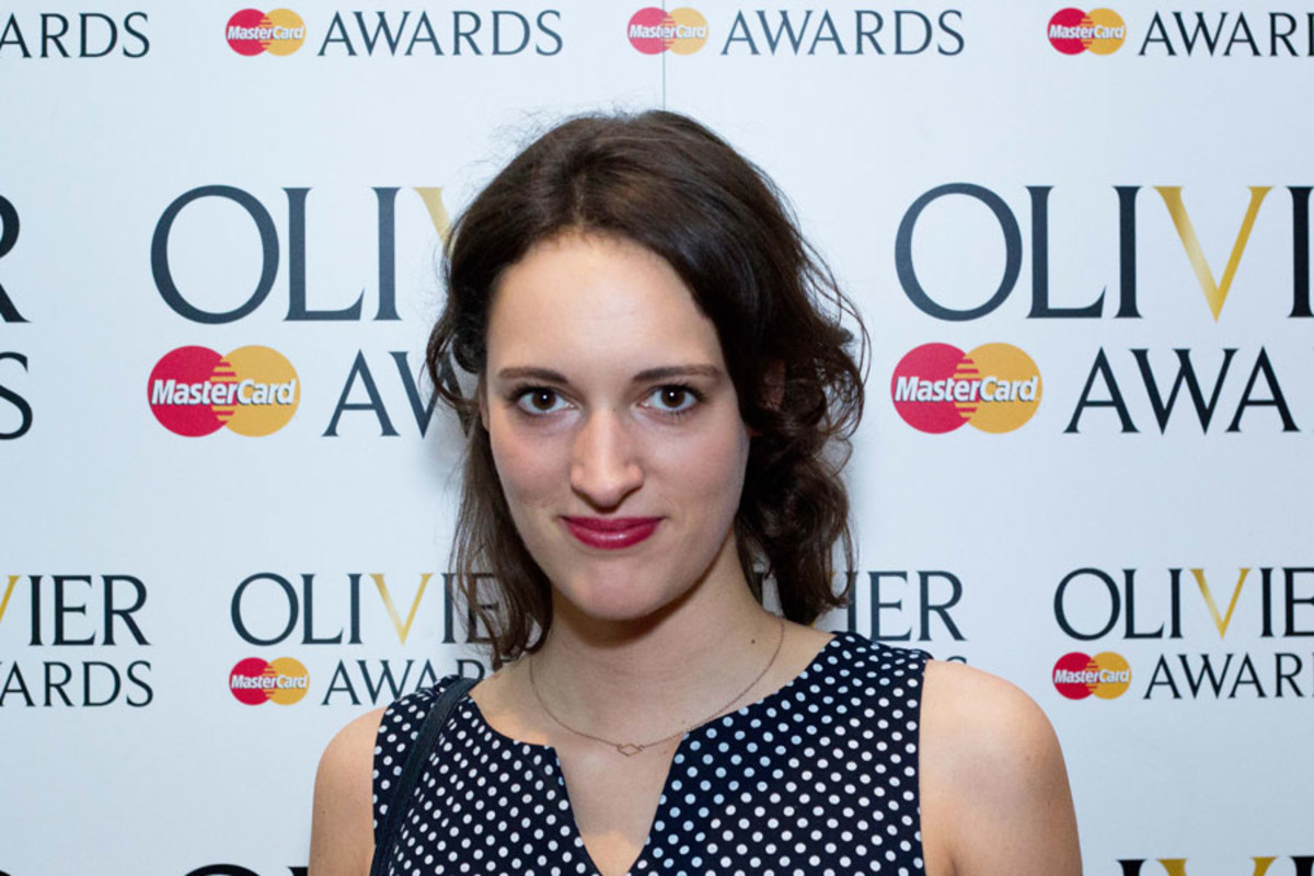 Phoebe Waller-Bridge at the Olivier Awards Nominees Lunch 2014