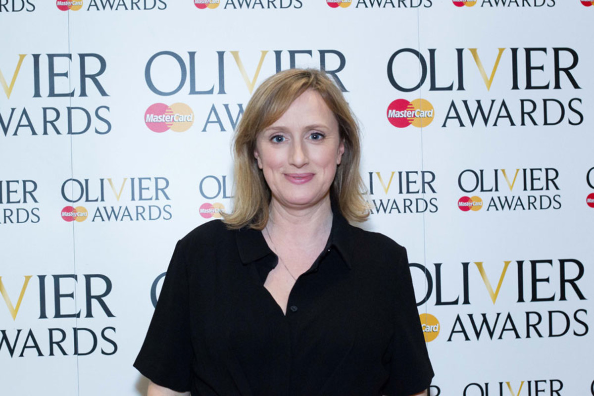 Jenna Russell at the Olivier Awards Nominees Lunch 2014