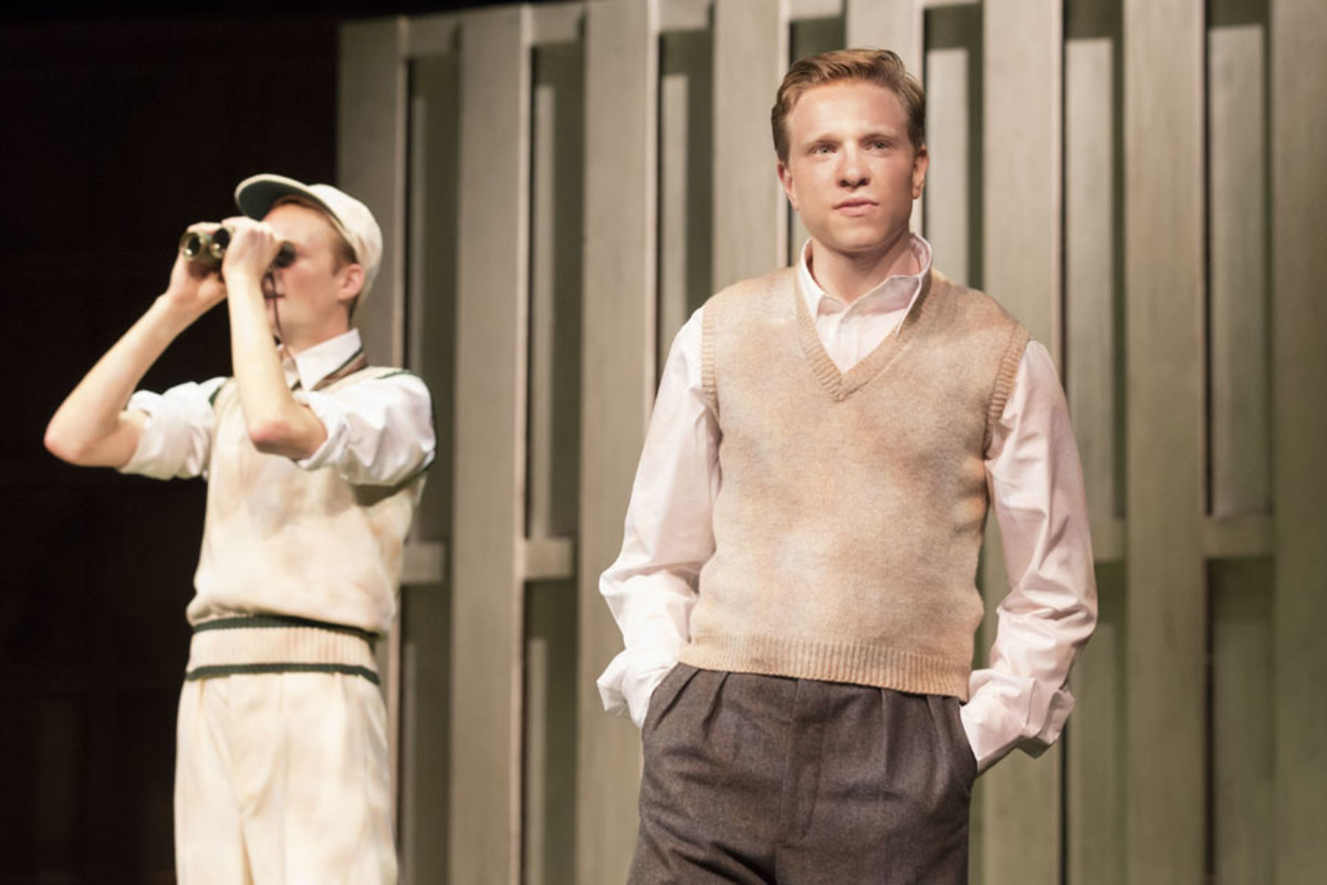 Rob Callender and Will Attenborough in Another Country (Photo: Johan Persson)