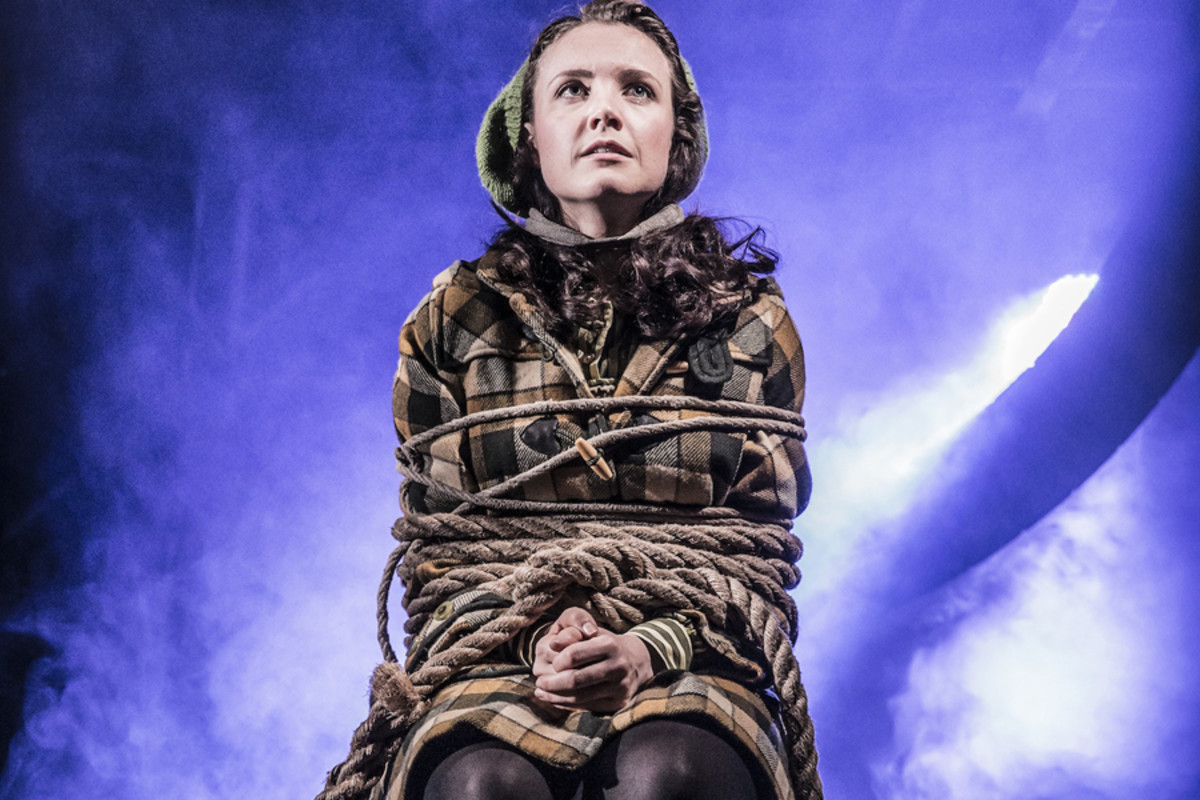 Rosanna Hyland in Urinetown The Musical (Photo: Johan Persson)