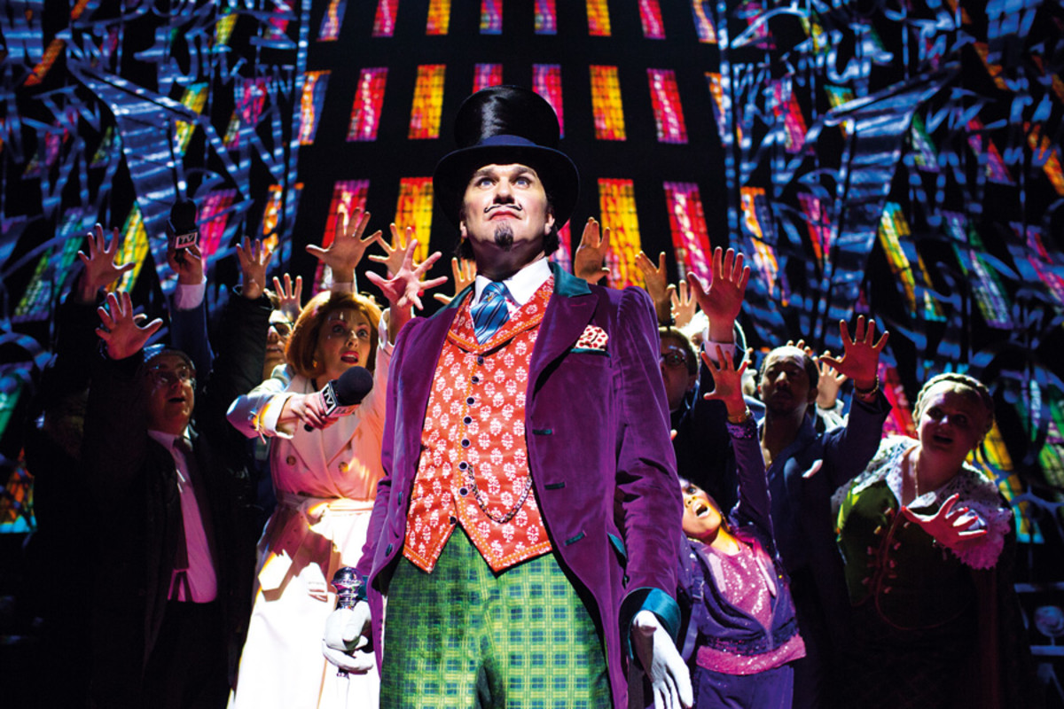 Charlie And The Chocolate Factory-Best New Musical-Olivier 2014