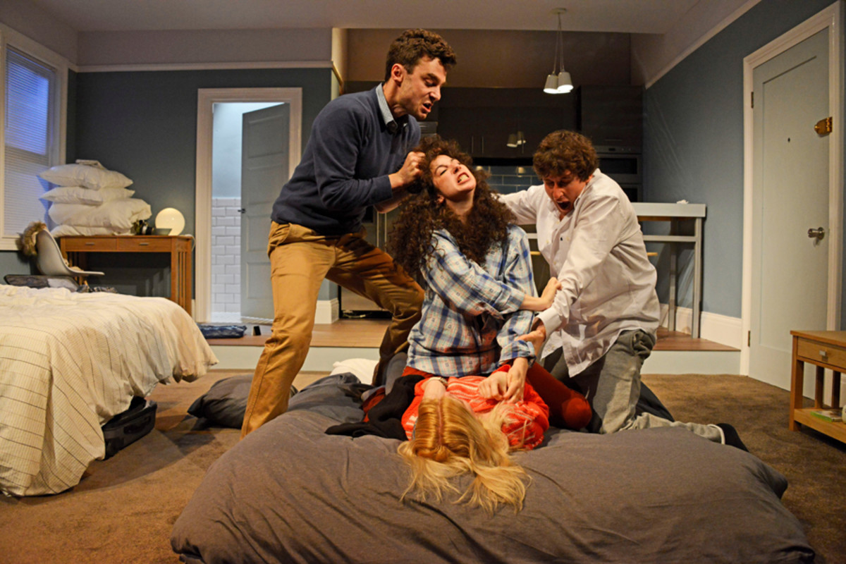 Bad Jews at the St  James Theatre (Photo: Nobby Clark)