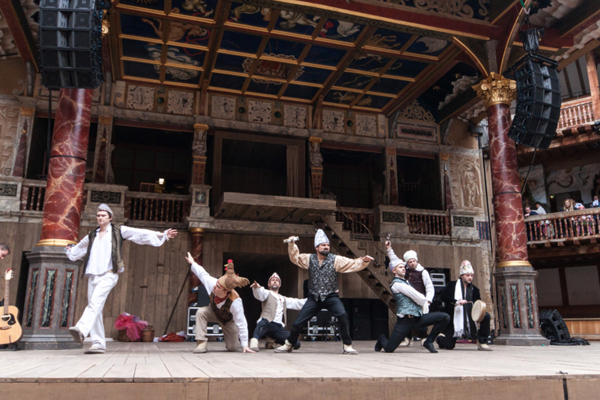 The School Of Night at Shakespeare's Globe (Photo: Helena Miscioscia)