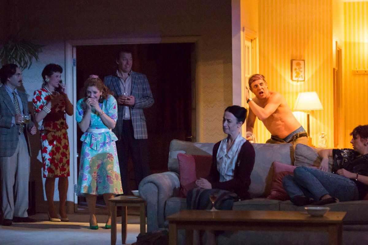 A Small Family Business at the National Theatre (Photo: Johan Persson)