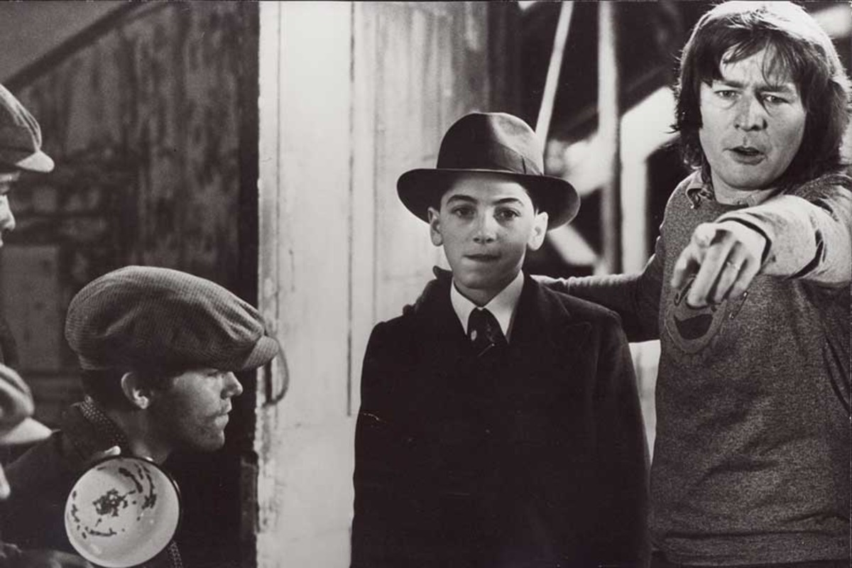 Sir Alan Parker on the set of Bugsy Malone