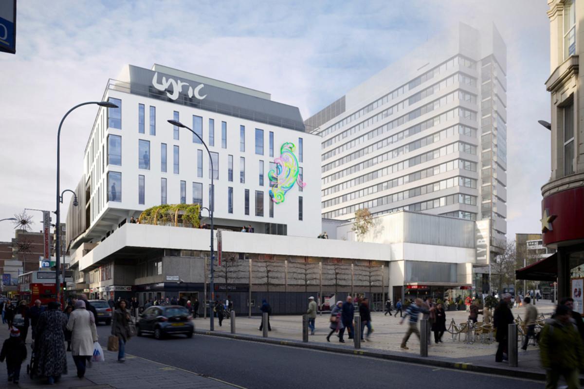 The Lyric Hammersmith redevelopment