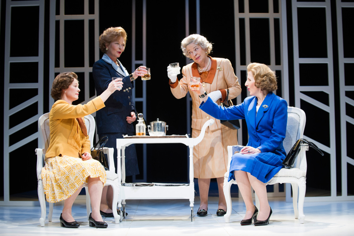 Handbagged-Outstanding Achievement In An Affiliate Theatre-Olivier 2014