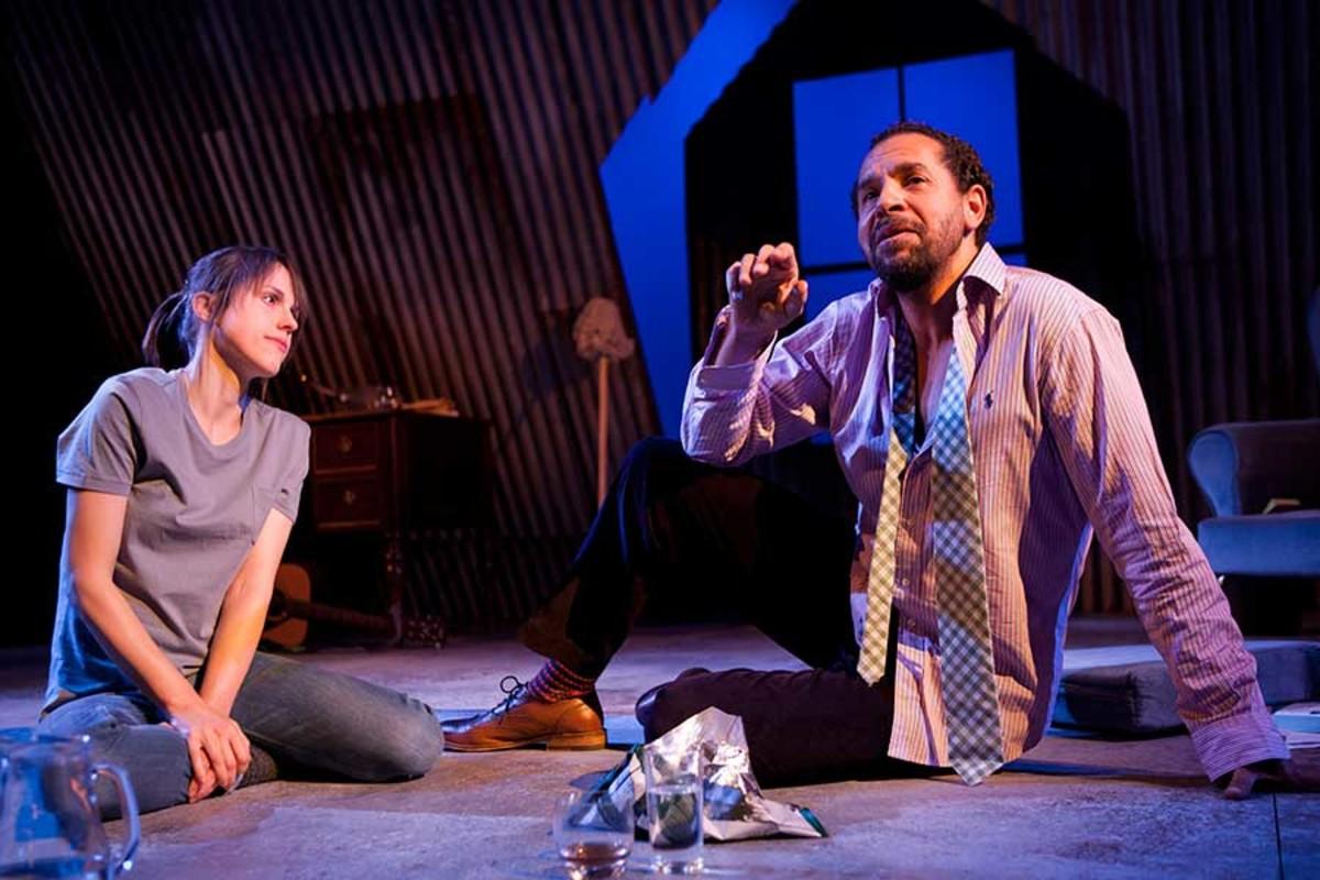 Joe Dixon and Amanda Hale star in Uncle Vanya at the St James Theatre (Photo: Simon Annand)