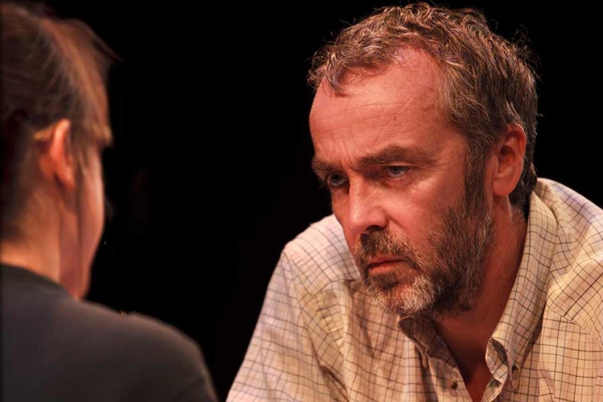 John Hannah stars in Uncle Vanya at the St James Theatre (Photo: Simon Annand)