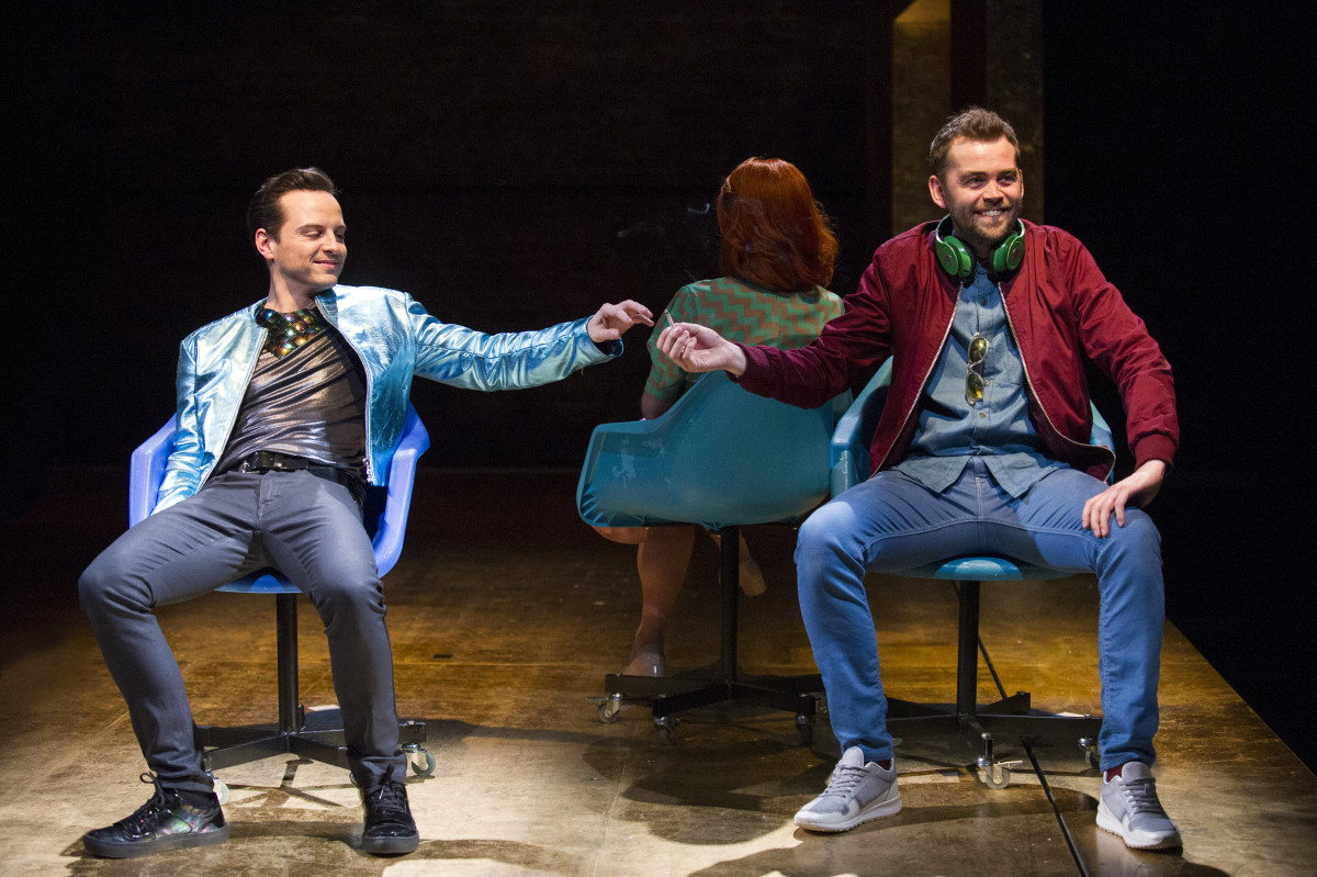 Andrew Scott and Alex Price in Birdland at the Royal Court Theatre (Photo: Richard H Smith)