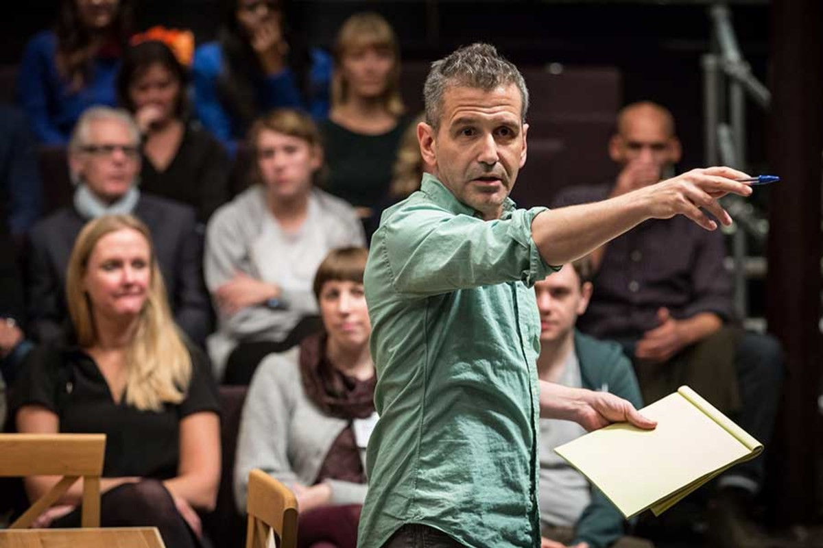 David Cromer stars in Our Town, playing at the Almeida Theatre (Photo: Marc Brenner)