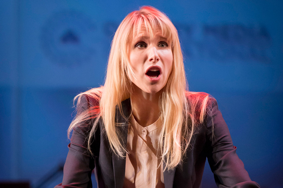 Lucy Punch stars in Great Britain at the Theatre Royal Haymarket (Photo: Johan Persson)