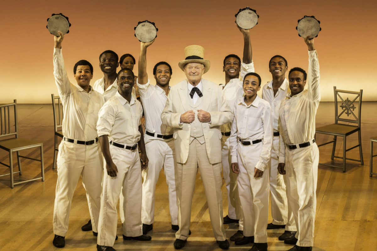 Julian Glover in The Scottsboro Boys at the Garrick Theatre