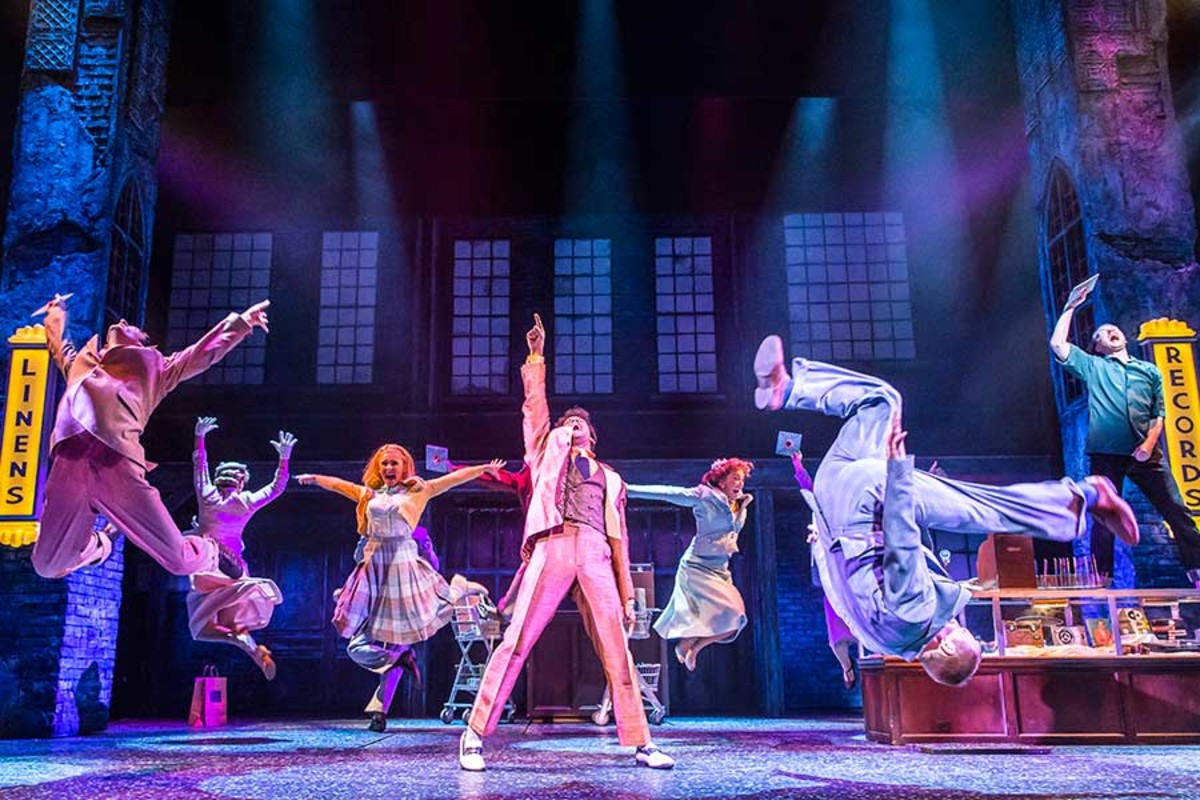 Memphis, the new musical playing at the Shaftesbury Theatre (Photo: Johan Persson)